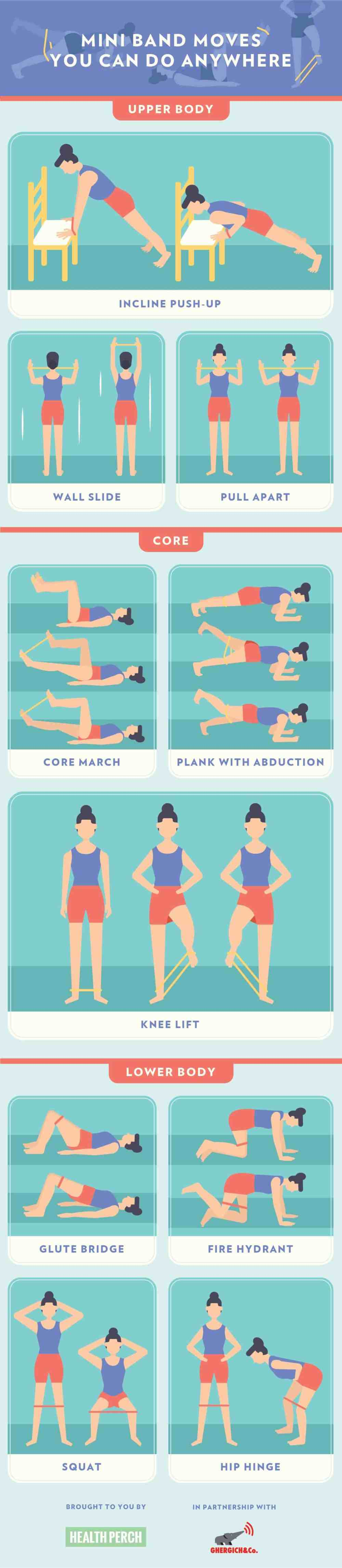 10 Mini Band Moves You Can Do Anywhere