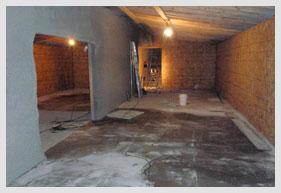 Inside of A Bomb Shelter Design