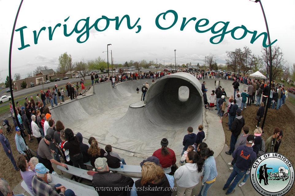 Irrigon Oregon Skatepark