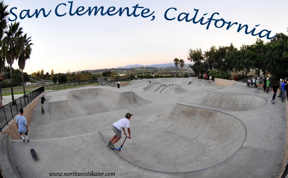 San Clemente California Skatepark