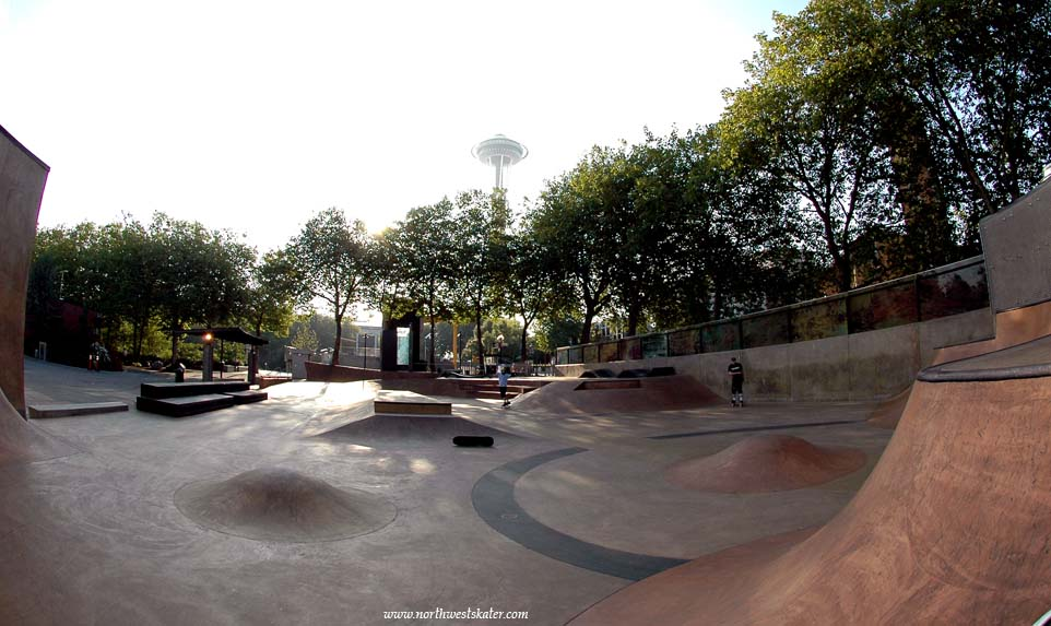 Seattle Center Skatepark Washington