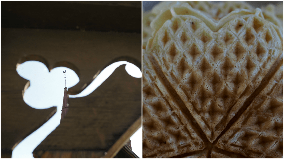 Norwegian Waffles with Aniseed