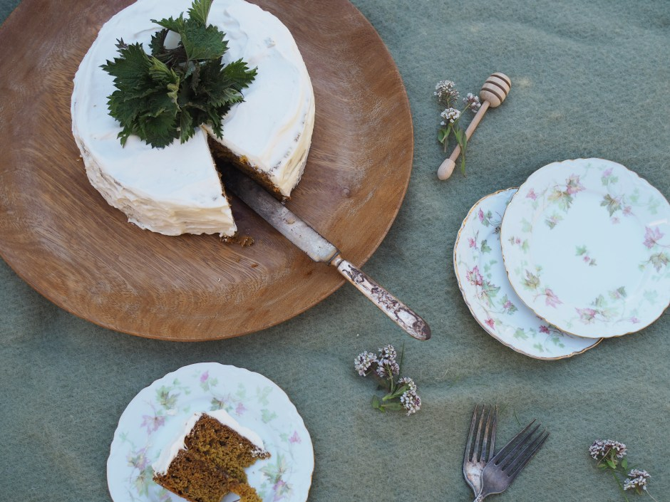 Nettle and Honey Cake (Brenneslekake)