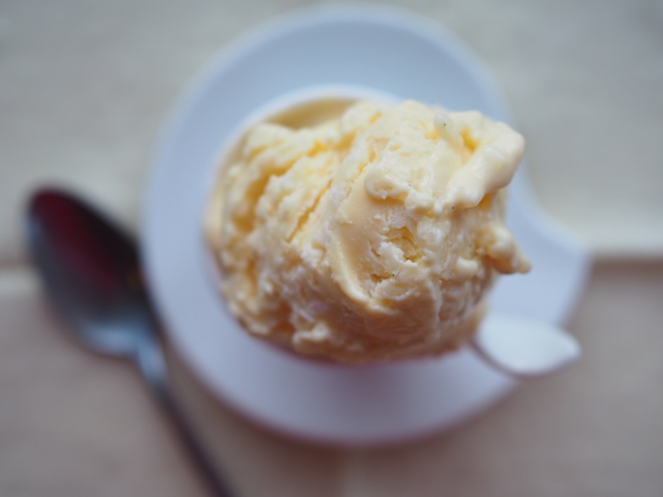 Rice Porridge Ice Cream (Risengrynsgrøt Iskrem)