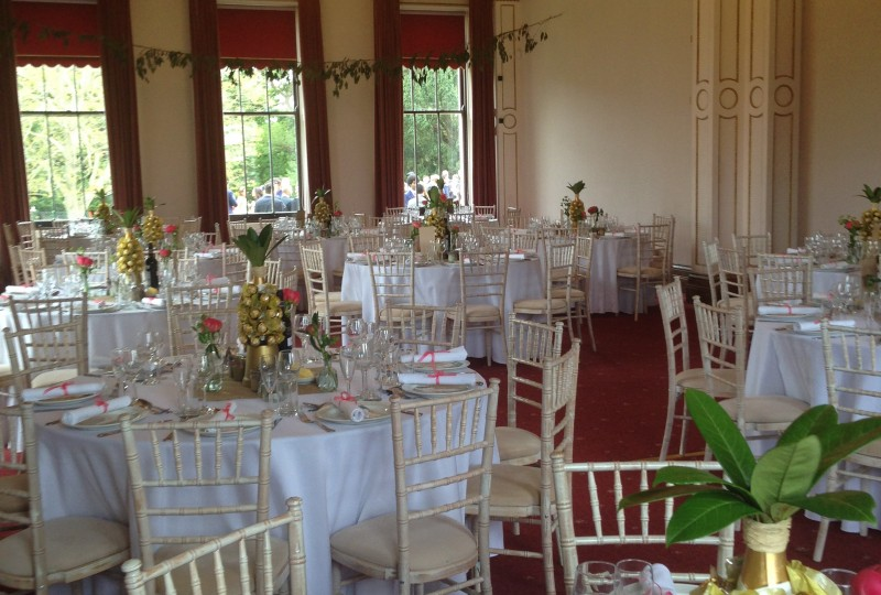 chair cover hire isle of man wedding algarve wight venue northwood house