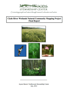 Clyde River Natural Community Mapping Project