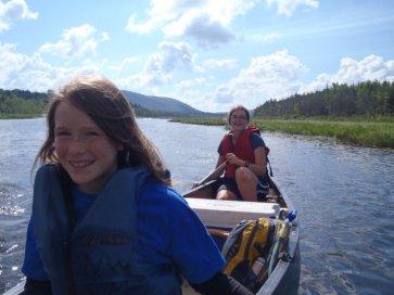happy paddlers