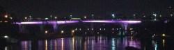 I-35W Bridge strides it's stripes
