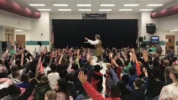 Cultural Arts Assembly – Meet Sir Isaac Newton