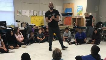 5th grade Cultural Arts workshop