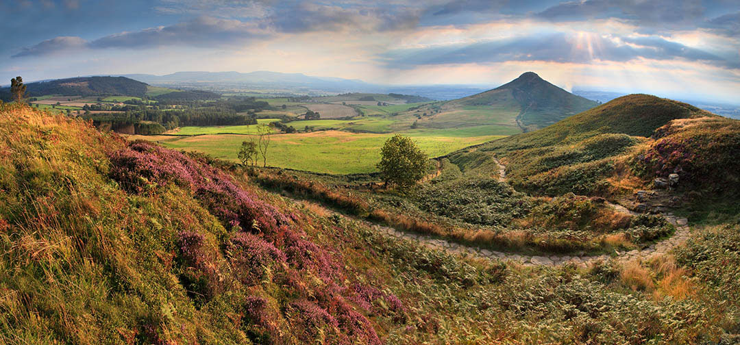 Roseberry Panorama ©Malcolm Blenkey