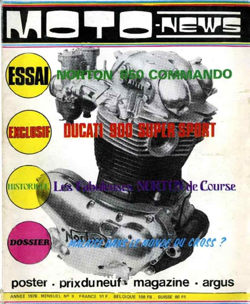 thumbnail of N° 09-Les Norton de course-850 Electric start en détail2