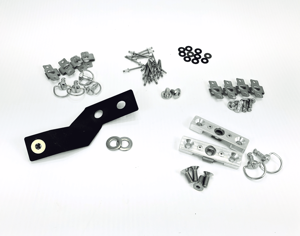 Norton Racing Race Bodywork Quick Release Mounting Kit