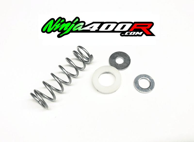 Ninja400R Clutch Shaft/Cable Spring and Spacer Kit