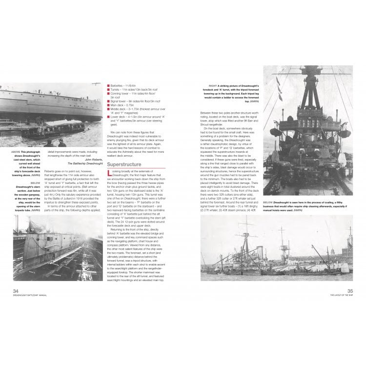 Haynes Manuals Dreadnought Battleship Owners Workshop