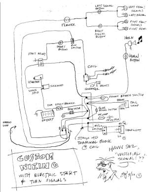 Simplied Shovelhead wiring diagram needed!
