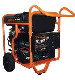 generac portable gp series 17500e at norwall com generac electric start gp series 17500e portable generator model 5734 at norwall com norwall  [ 900 x 900 Pixel ]