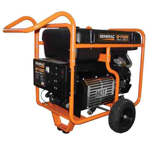 small resolution of generac portable gp series 17500e at norwall com generac electric start gp series 17500e portable generator model 5734 at norwall com norwall