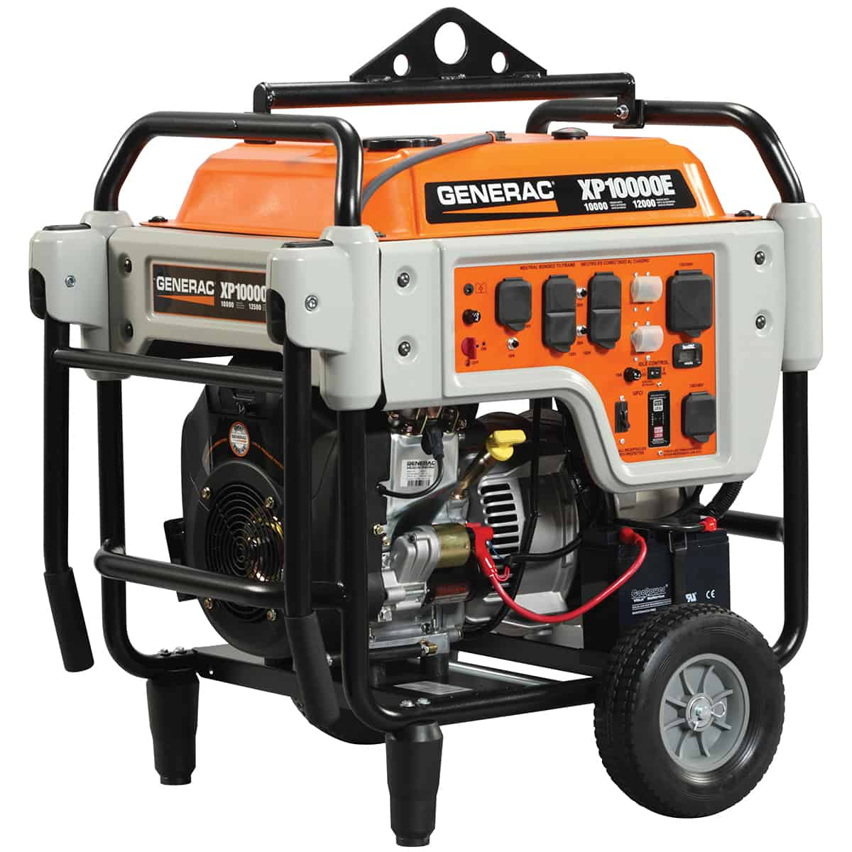 hight resolution of generac portable xp series xp10000e electric start 5932
