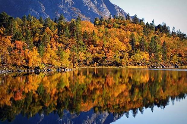 Vermont Fall Wallpaper Indian Summer Im Norden Norwegen Service