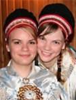 Sara Marielle Gaup and Risten Anine Gaup