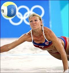 Kathrine Maaseide prepares for the 2009 season