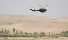 Norwegian Helicopter in Meymaneh. Photo Regjeringen.no