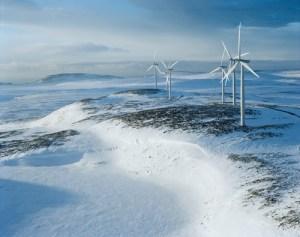 Statkraft Windpark in Norway. Photo: Statkraft.