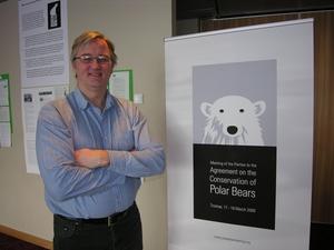 Senior advisor Dag Vongraven from the Norwegian Polar Institute (NPI) is part of the international group of Polar Bear Specialist Group (PBSG). Photo: M. F. Nesse / NPI.