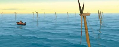 Lyse is planning the world's first deep-water wind farm off the island of Utsira in Rogaland, Norway.Criteria for location of an offshore wind farm is excellent wind conditions and suitable water depth. The wind farm must be situated near a strong onshore power grid and near harbours and shipyards. Illustration: Lyse / Sway.no.