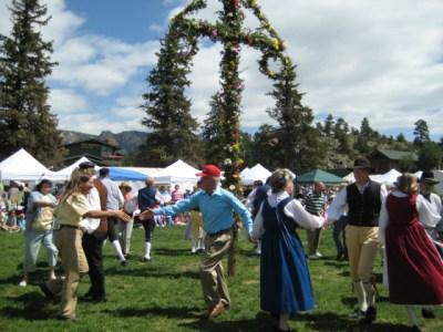 Join in the fun at the Scandinavian Festival in Estes Park, Colorado!