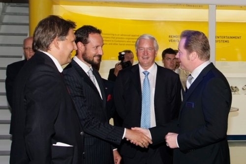Crown Prince Haakon visited ONS 2008. Photo: Karl Henrik Pedersen