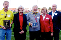 Kris Bjerkness, Linda Nelson, Paul Erickson, Ingeborg and Ivar Sorensen. Photo: Leslee Lane Hoyum