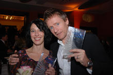 The Prize Winners, Katja Eyde Jacobsen (Yatzy) and actor Henrik Medstad (Orps - The Movie)
