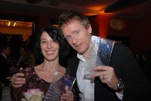 The Prize Winners, Katja Eyde Jacobsen (Yatzy) and actor Henrik Medstad (Orps - The Movie)