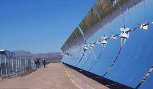 POWER FROM THE SUN: If mirrored like here in a concentrated solar power plant, or integrated in solar modules to absorb the heat, aluminum is delivering a lot of benefits to solar technology solutions, literally making solar shine. (Photo: Hydro)