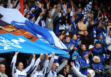 FK Haugesund fans. Photo: fkh.no