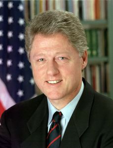 Former US President Bill Clinton is among the nominees. Image: Bob McNeely, the White House