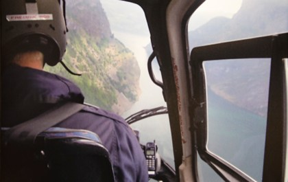 A view from the helicopter. (Photo: Char Brekke)