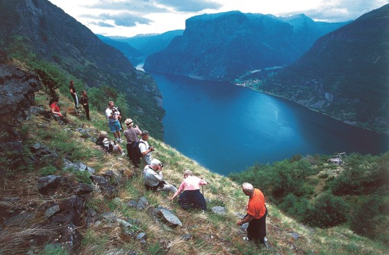 The hikers enroute to Kappadal (Photo: Jan Johannesson)