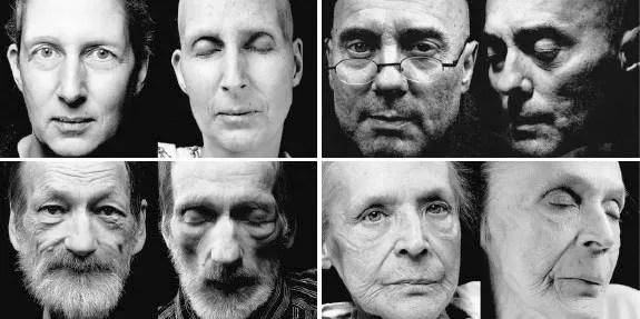 Photos courtesy of Kreftforeningen Photographer Walter Scheler photographed patients before and after death for this ground-breaking exhibition at the Norwegian Museum of Science and Technology in Oslo.