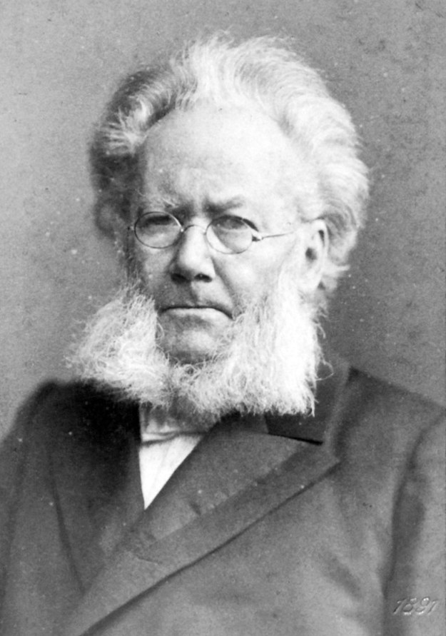 Photo: Wikimedia Commons Despite the man's unparalleled facial hair, most Norwegians disagree that Henrik Ibsen was the most important Norwegian of the last two centuries.