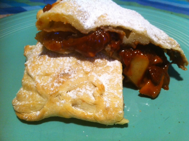 Photo: Sunny Gandara Dust a little powdered sugar on top for a strudel as beautiful as it is tasty.