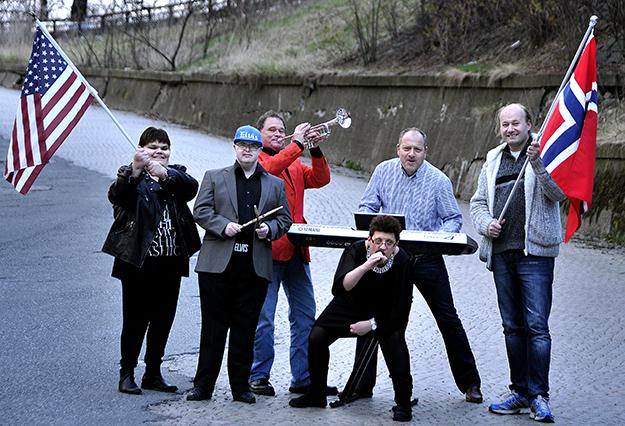 Photo courtesy Leslee Lane Hoyum  Spilloppgjengen, a high-energy performance group founded in Sarpsborg, will accompany Kai Robert Johansen in his fall U.S. tour.