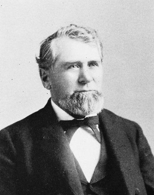 Photo: Wikimedia Commons Senator Knute Nelson.