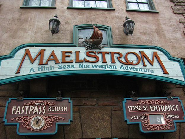 Photo: Loren Javier / Flickr The classic ride Maelstrom will be no more.