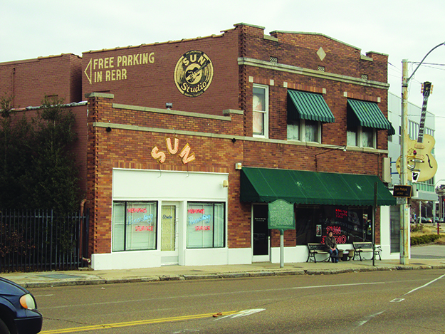 Photo: Mario G. Flores Sun Studio, where Johnny Cash, Jerry Lee Lewis, and Elvis Presley cut their first albums.