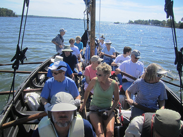 Photo: Henry Hansen  The intrepid mariners.