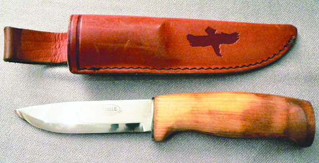 Photo: Eva Kröcher / Wikimedia Commons This outdoor knife is made by Helle in Western Norway's Sogn og Fjordane County.