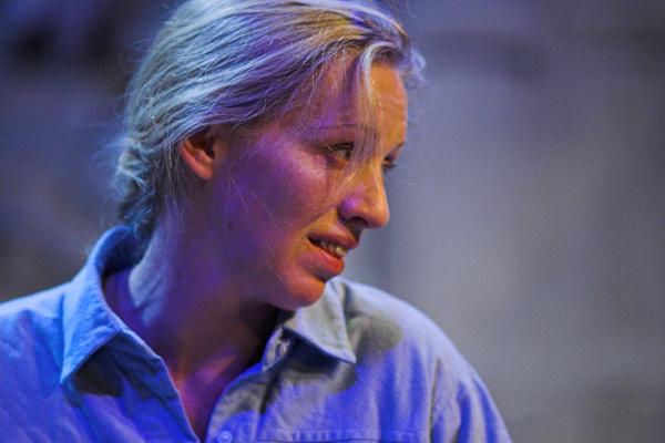 Photo: www.nannaingvarsson.com Nanna Ingvarsson, who played SHE.
